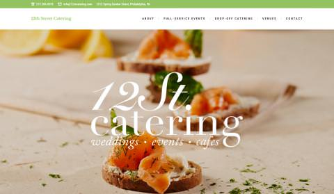 Website 12st Catering