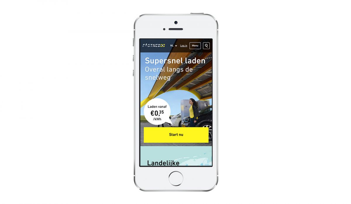 Responsive website Fastned