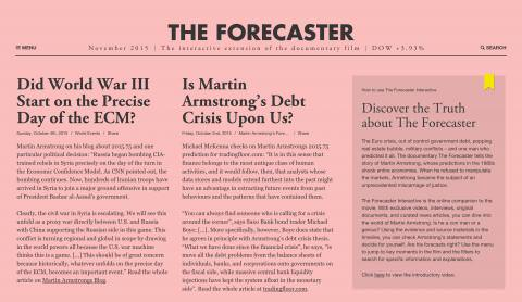 Website The Forecaster
