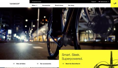 Website VanMoof
