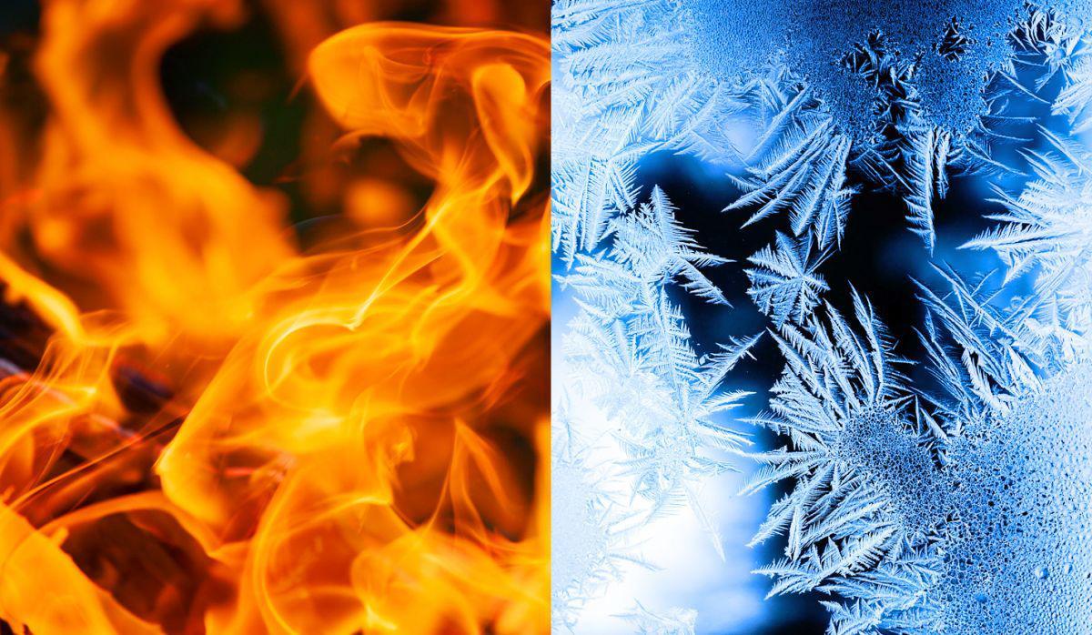 Warme en koude kleuren